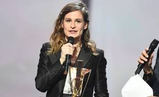 Heloïse Letissier, alias Christine and the Queens /NIVIERE_033NIV/Credit:NIVIERE/SIPA/1502140435