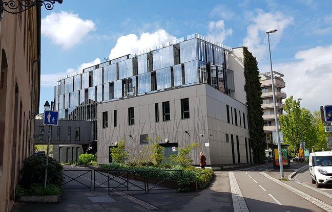 L'extension de l'ENA à Strasbourg.