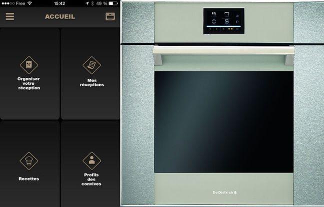 Chez De Dietrich, on peut inviter le chef étoilé Pierre Gagnaire en cuisine à travers une application.