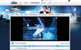 La finale de la saison 2 de «Danse avec les Stars» en tweet-replay sur le site de TF1.