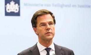 Le Premier ministre des Pays-Bas Mark Rutte le 21 juillet 2014 à La Haye