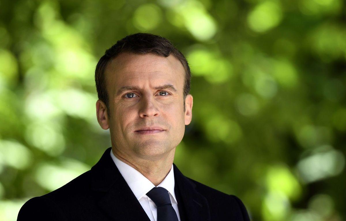 Un reportage dans le numéro spécial du 12 mai d'« Envoyé spécial » était consacré au  président de la République Emmanuel Macron – Eric Feferberg/AP/SIPA