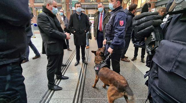 Lille : La sécurité dans les trains au menu du président des Hauts-de-France en campagne - 20 Minutes