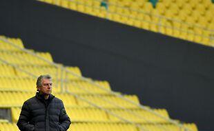 Christian Gourcuff n'est plus le coach du FC Nantes.