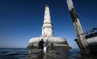 Le phare de Cordouan, dans l