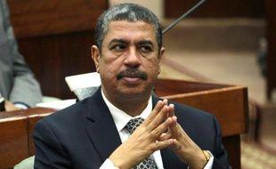 Le chef du gouvernement yéménite Khaled Bahah au Parlement à Sanaa le 18 décembre 2014