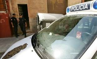 Illustration police espagnole.