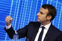 Emmanuel Macron lors du forum