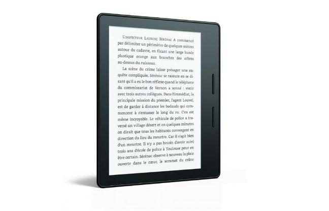 Le nouvel e-reader d'Amazon, le Kindle Oasis, lancé pour l'été.