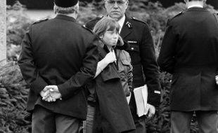 Murielle Bolle, le 5 novembre 1984.AFP PHOTO / Jean-Claude DELMAS