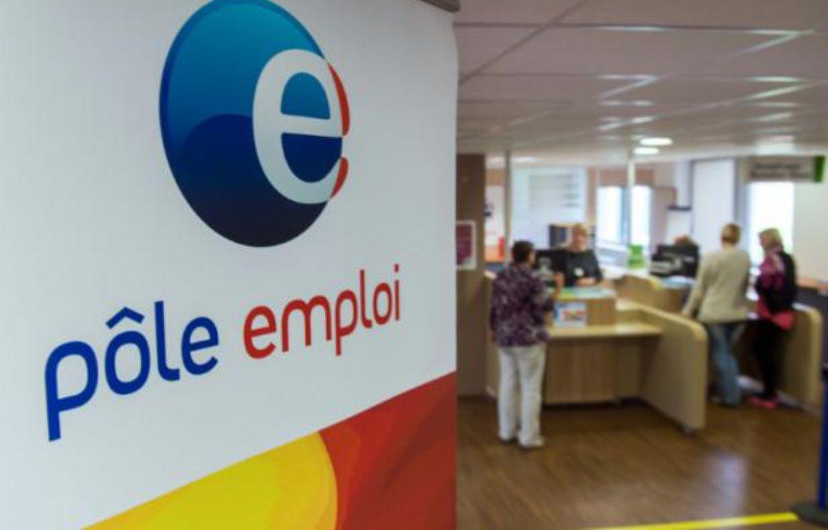 Une agence Pôle Emploi à Armentières, dans le nord de la France, le 27 août 2014 – PHILIPPE HUGUEN AFP