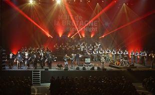 La Nuit de la Bretagne avait fait étape à l'Arena de Brest le 27 décembre 2014.