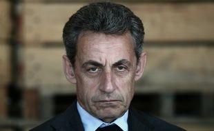 Nicolas Sarkozy, président du parti Les Républicains, le 9 juillet 2016 à Kriegsheim (est de la France)