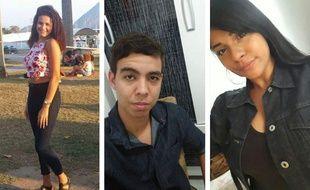 Isaura, Igor, Nataly, les trois jeunes Brésiliens interrogés avant le premier tour de l'élection présidentielle.
