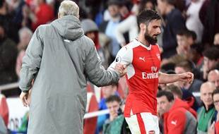 A Arsenal, Olivier Giroud est remplaçant à tous les matchs de championnat depuis le début de saison.
