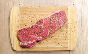 De la viande (illustration).
