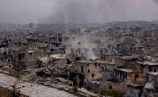 Le quartier de Chaar, à Alep-Est, le 5 décembre 2016