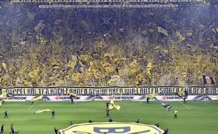 Le Mur jaune de Dortmund en chair et en bières.