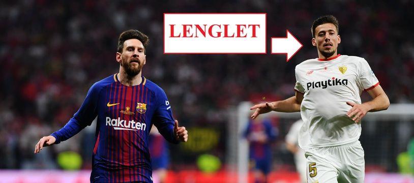 Lenglet sera peut-être le poto de Leo la saison prochaine.