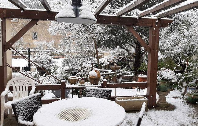 Languedoc-Roussillon: Il neige ce jeudi matin, «un phénomène remarquable»
