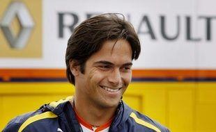 Nelson Piquet Jr, au Grand Prix de Turquie le 4 juin 2009.