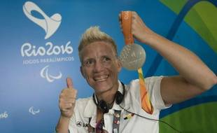 Marieke Vervoot, le 10 septembre 2016 à Rio.