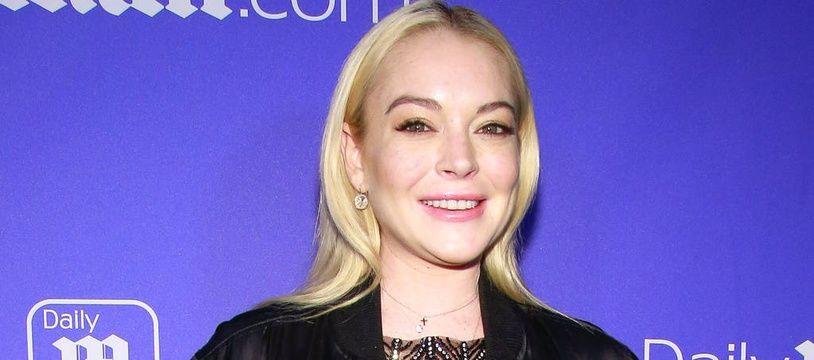 L'actrice Lindsay Lohan