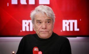 Bernard Tapie en mai 2019, invité sur RTL