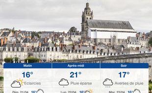 Météo Tours: Prévisions du samedi 20 avril 2019
