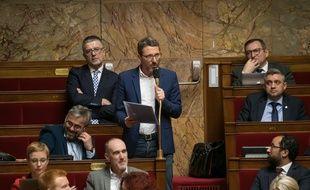 Le député Matthieu Orphelin à l'Assemblée.