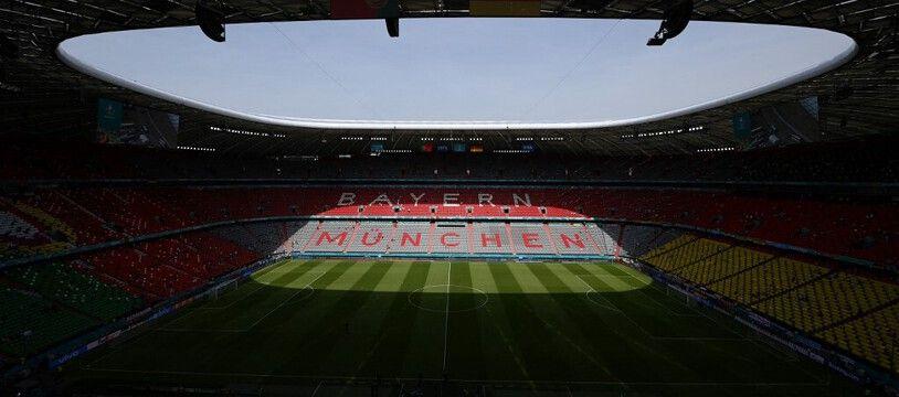 Le stade de Munich.