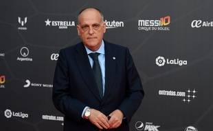 Le président de la Liga Javier Tebas n'abandonne pas l'idée d'organiser un match à l'étranger plus tard.