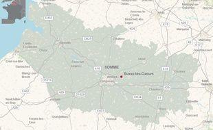 La commune de Bussy-lès-Daours, où le corps a été retrouvé.