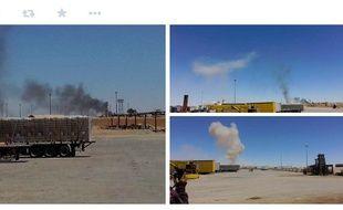Le groupe Etat islamique a revendiqué une attaque perpétrée  le 25 avril par trois kamikazes à la frontière entre l'Irak et la Jordanie.