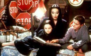 «Allez, un dernier film d'horreur et au lit», le genre de phrase typique de la famille Addams