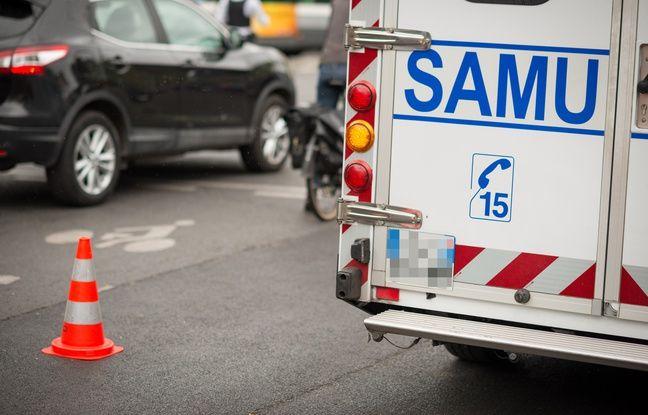 Créteil: Il vole un véhicule du Samu à l'hôpital et finit sa course dans un platane