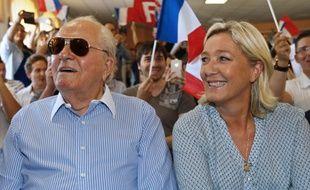 Jean-Marie et Marine Le Pen