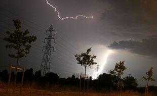 Des éclairs ici à Toulouse. (archives)