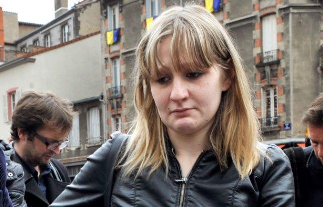La mère de Fiona Cécile Bourgeon à Clermont-Ferrand le 16 mai 2013.