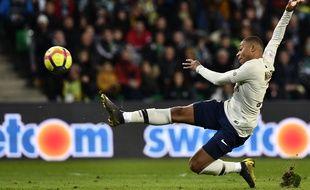 Kylian Mbappé a signé l'éclair de la rencontre à la 73e minute de jeu.