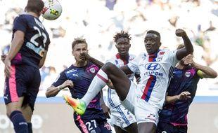 Mouctar Diakhaby a failli inscrire son premier but en Ligue 1 dès sa première apparition professionnelle, le 10 septembre face à Bordeaux (1-3). Sa reprise du droit a été déviée par Cédric Carrasso sur la transversale.