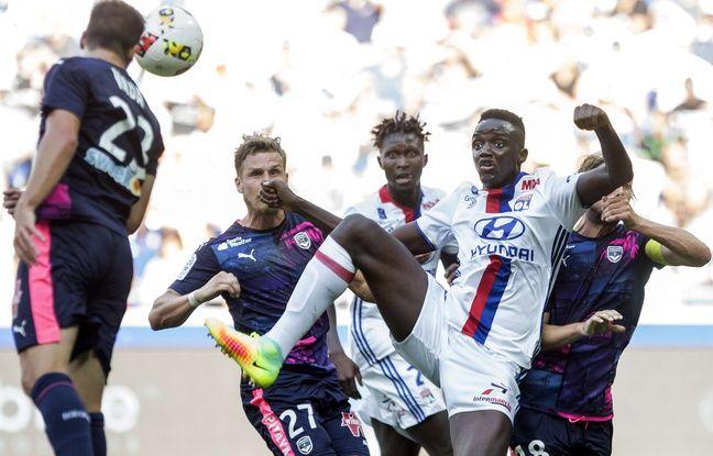 Mouctar Diakhaby a failli inscrire son premier but en Ligue 1 dès sa première apparition professionnelle, le 10 septembre face à Bordeaux (1-3).