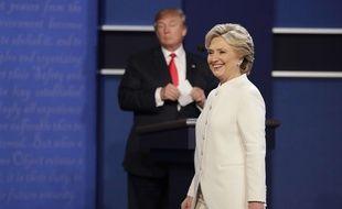 Hillary Clinton lors du troisième débat qui l'opposait à Donald Trump le 19 octobre dernier à Las Vegas.