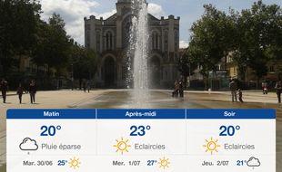 Météo Saint-Etienne: Prévisions du lundi 29 juin 2020