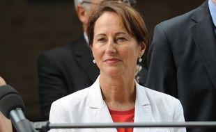 Ségolène Royal lors d'un déplacement en Meurthe-et-Moselle le 26 juin 2015.