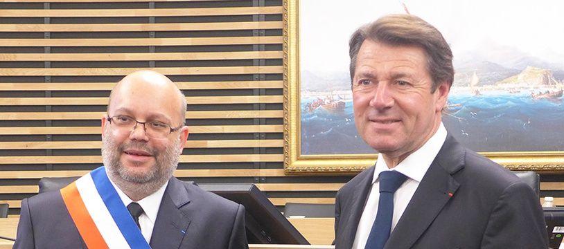 Philippe Pradal avait succédé à Christian Estrosi au poste de maire de Nice pendant un an