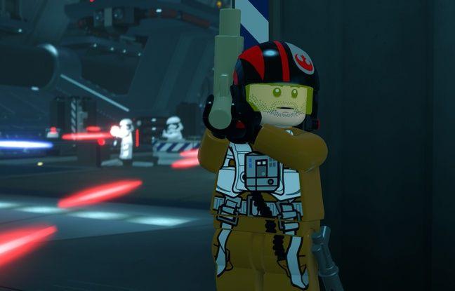Les personnages du film modélisés à la façon Lego.
