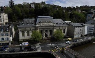 Le tribunal correctionnel de Tulle en Corrèze.