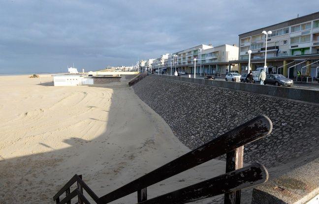 La plage de Berck-sur-Mer où le corps sans vie d'Adélaïde, 13 mois, a été découvert en 2013.