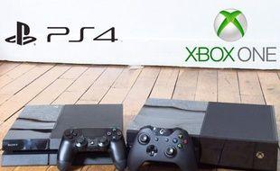 Capture d'écran du comparatif Xbox One / PS4.